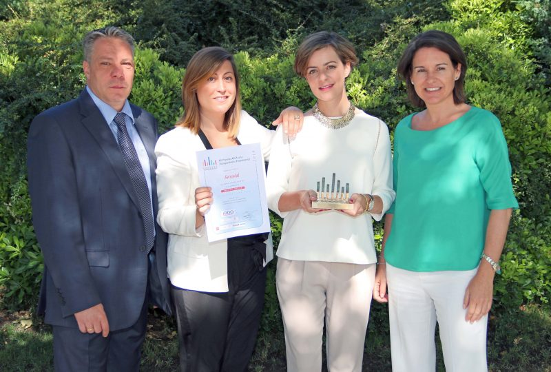 Ferrovial receives AECEA award for business transparency