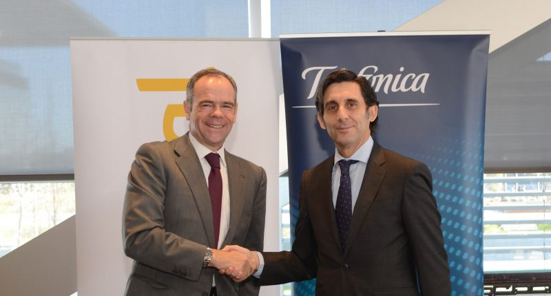 Ferrovial and Telefonica, signing of the agreement for communications supply