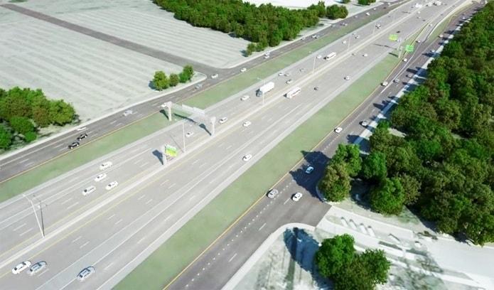 Webber, Highways Texas US 281 North