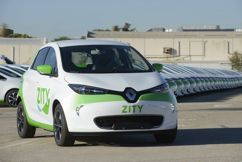 Zity Carsharing Madrid