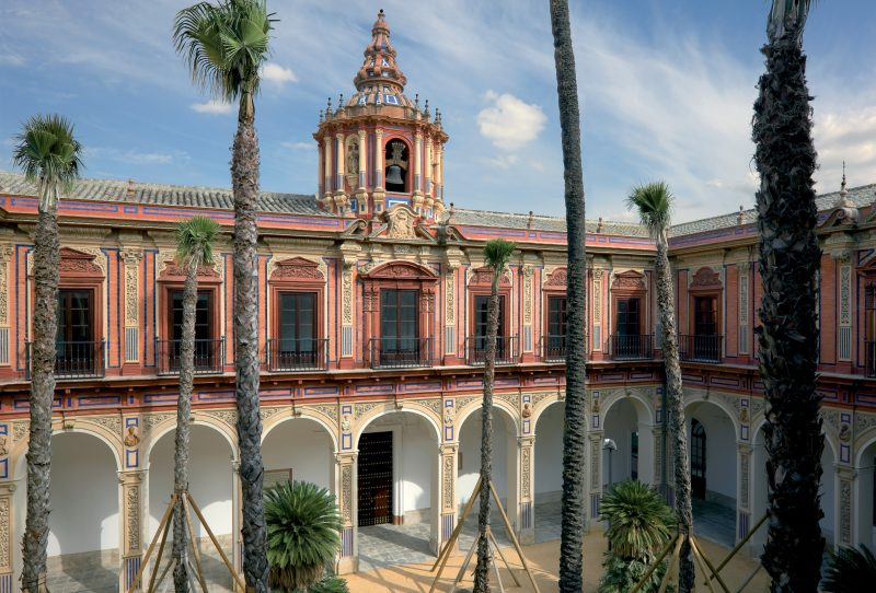 Refurbishment of San Telmo Palace, Seville.