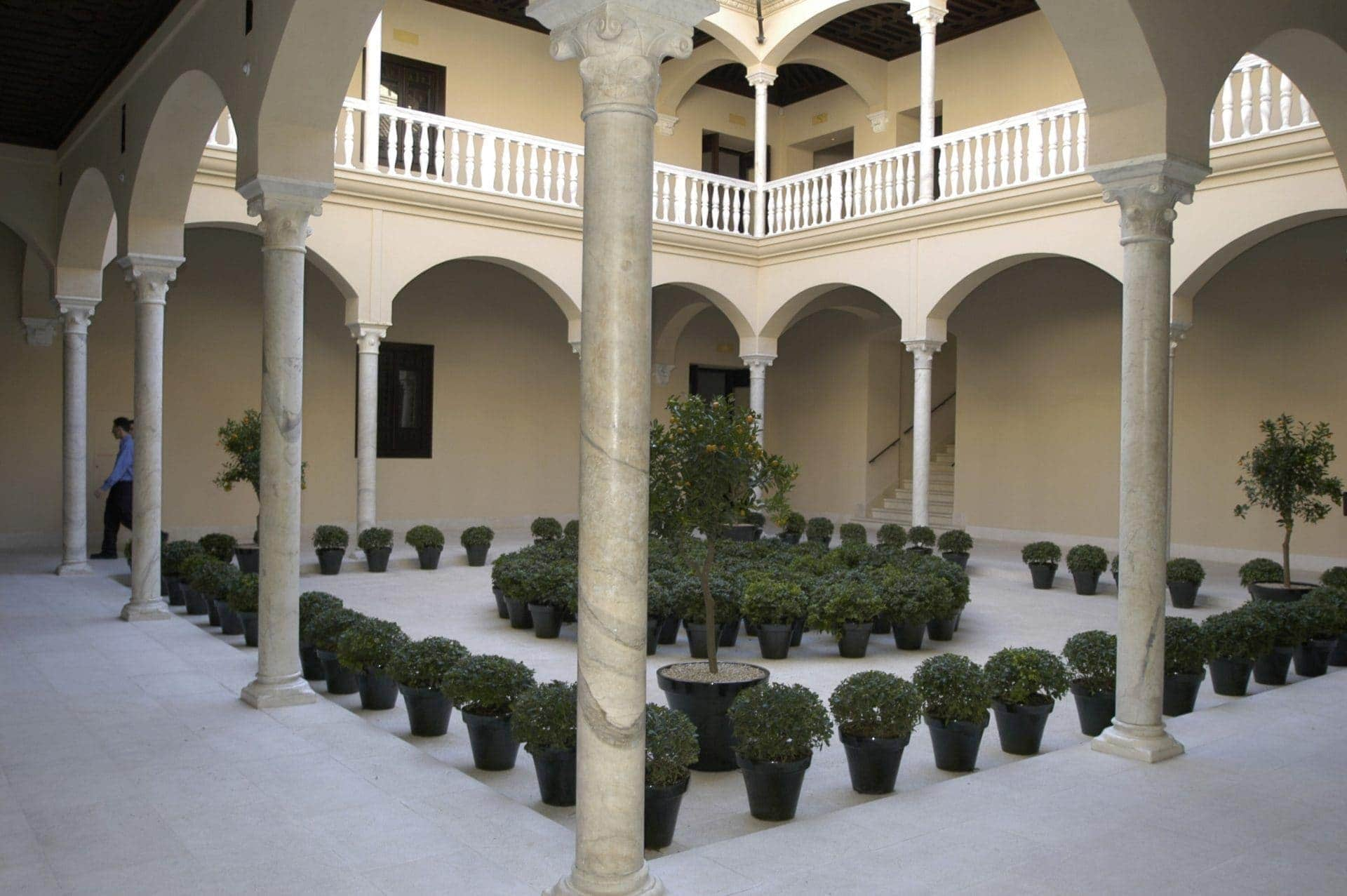 Picasso Museum, refurbished by Ferrovial Agroman