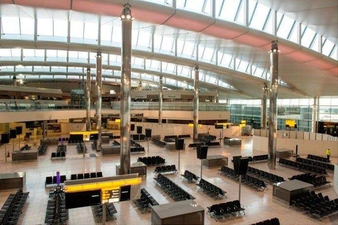 Heathrow T2 Departure Lounge