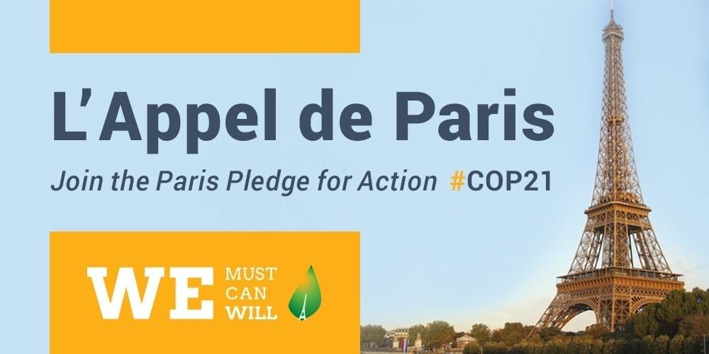 Ferrovial signs Paris pledge for action