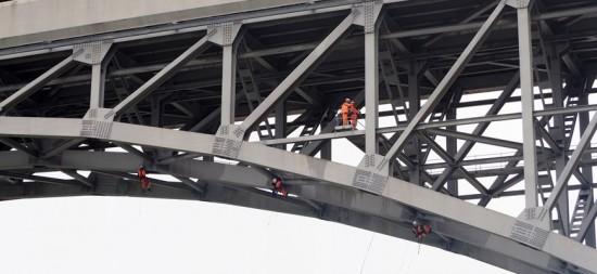 Drones para inspeccionar el puente Britannia en Gales
