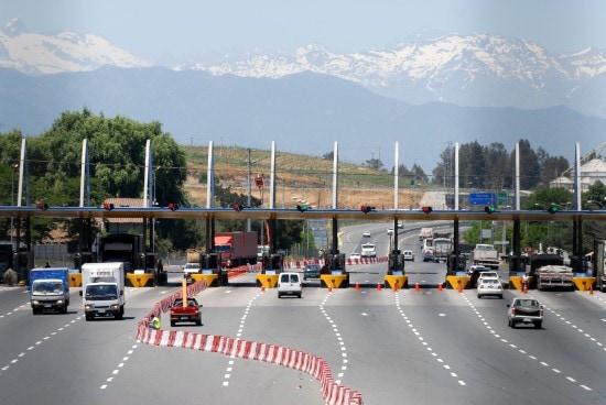 Chile - Angostura - Autopista