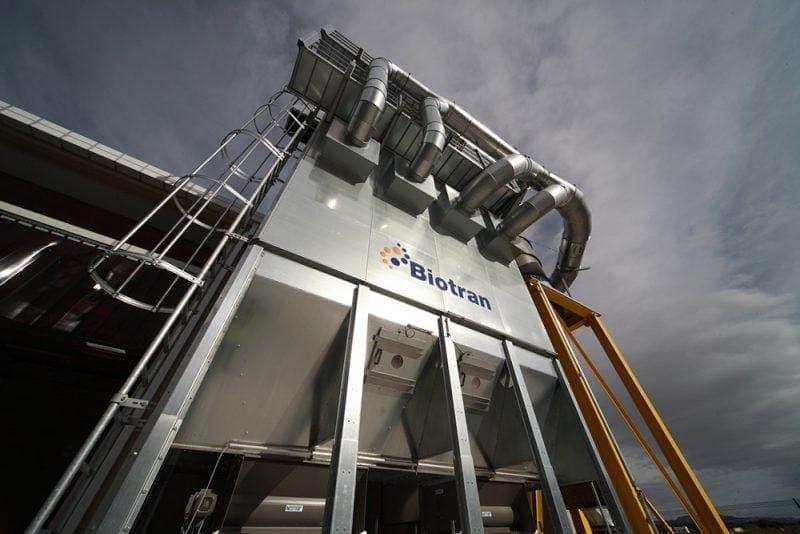 residuos industriales biotran de ferrovial