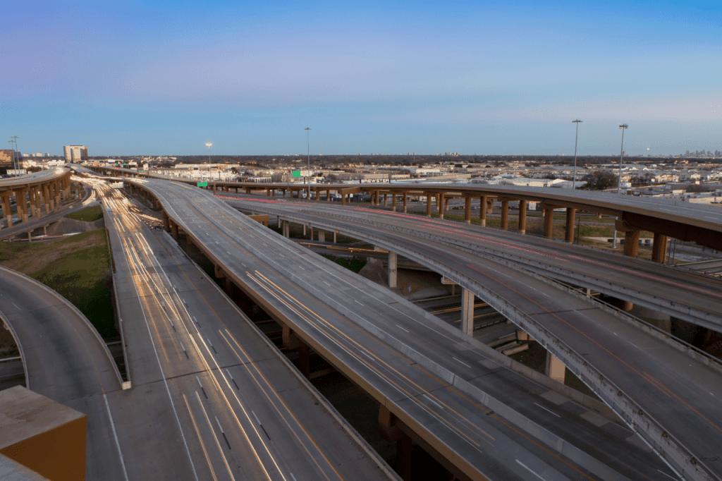 LBJ Express toll road Texas