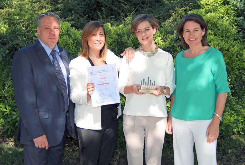 Ferrovial recibe el premio AECA por la Transparencia-Empresarial