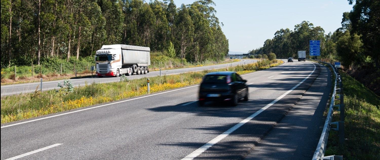 conducción autónoma autopista Portugal norte litoral