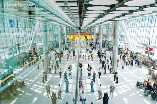 Heathrow Airport highest ever passenger service