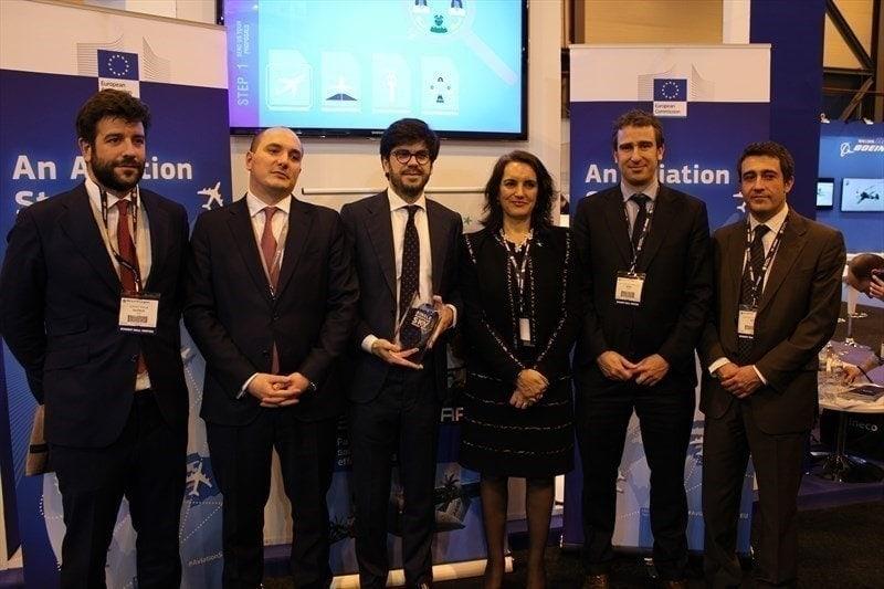 FerroNATS ha recibido el premio cielo unico europeo