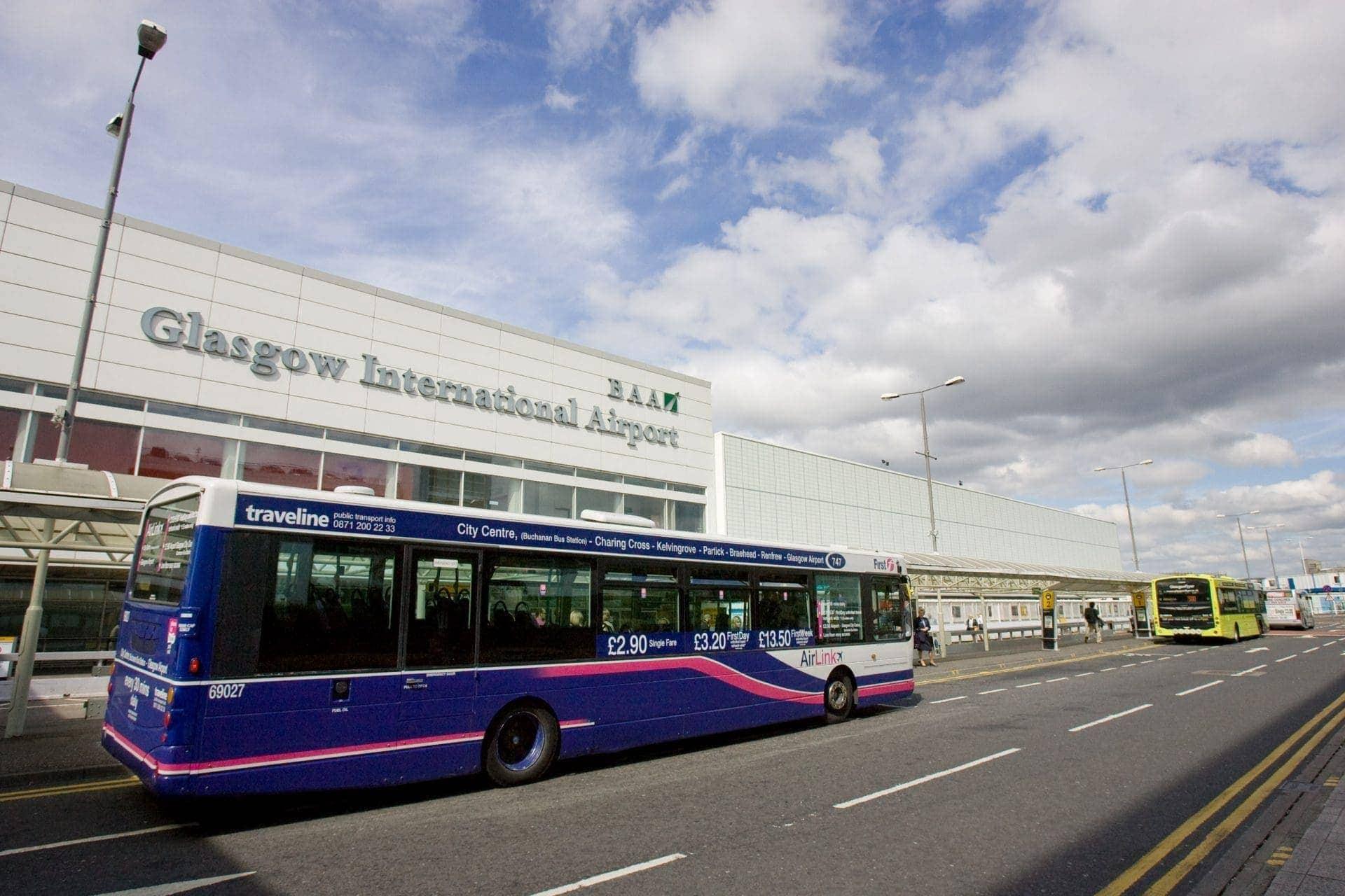 Aeropuerto de Glasgow 2016 resultados