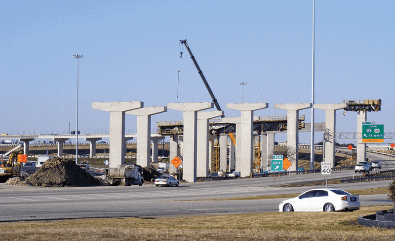 North Tarrant Express project by Ferrovial Agroman