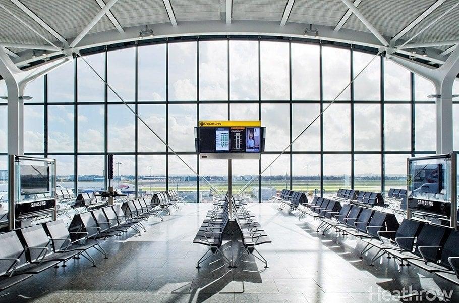 Heathrow reducir las emisiones de carbono