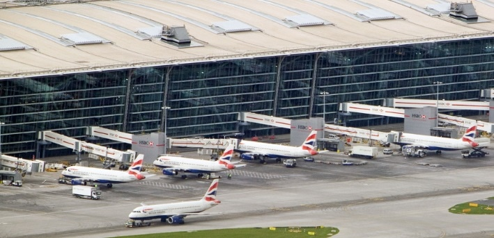 Heathrow Traffic 2013