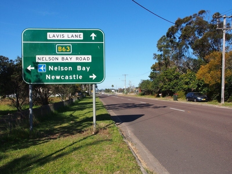 Nelson Bay Road Australia