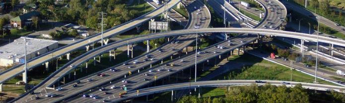 Mantenimiento de carreteras en Texas