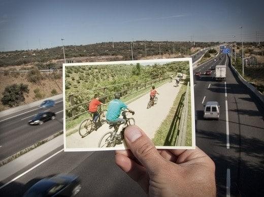 Apostamos movilidad sostenible Vias Verdes menos CO2