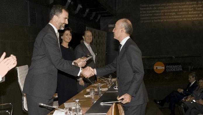Rafael del Pino Codespa Premio Ferrovial