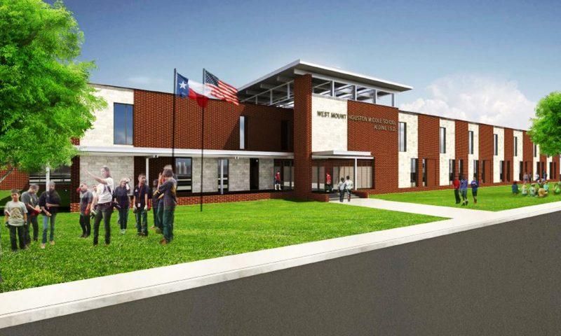 Construccion de Escuelas en Texas, Webber