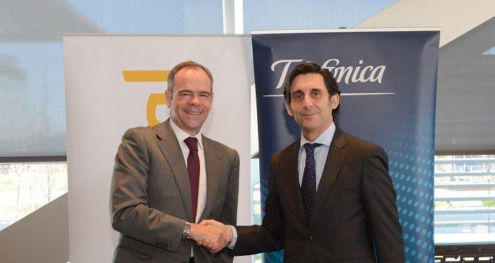 Ferrovial y Telefónica, firma del acuerdo para el suministro de servicios de operación de comunicaciones