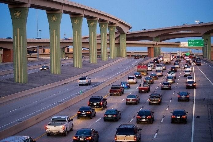 Autopistas Estados Unidos Texas LBJ Express