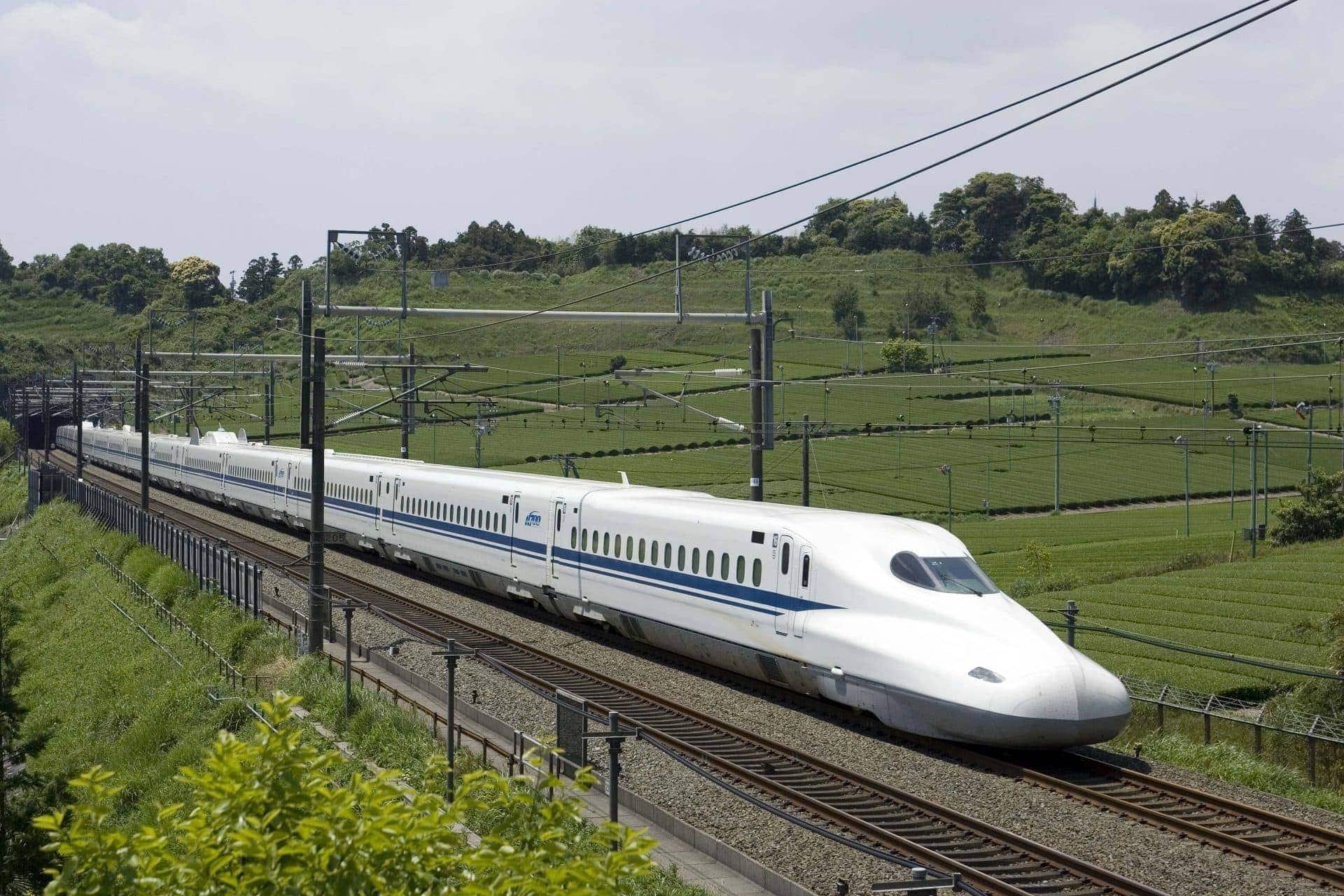 Shinkansen tren seleccionado por Dallas, Houston