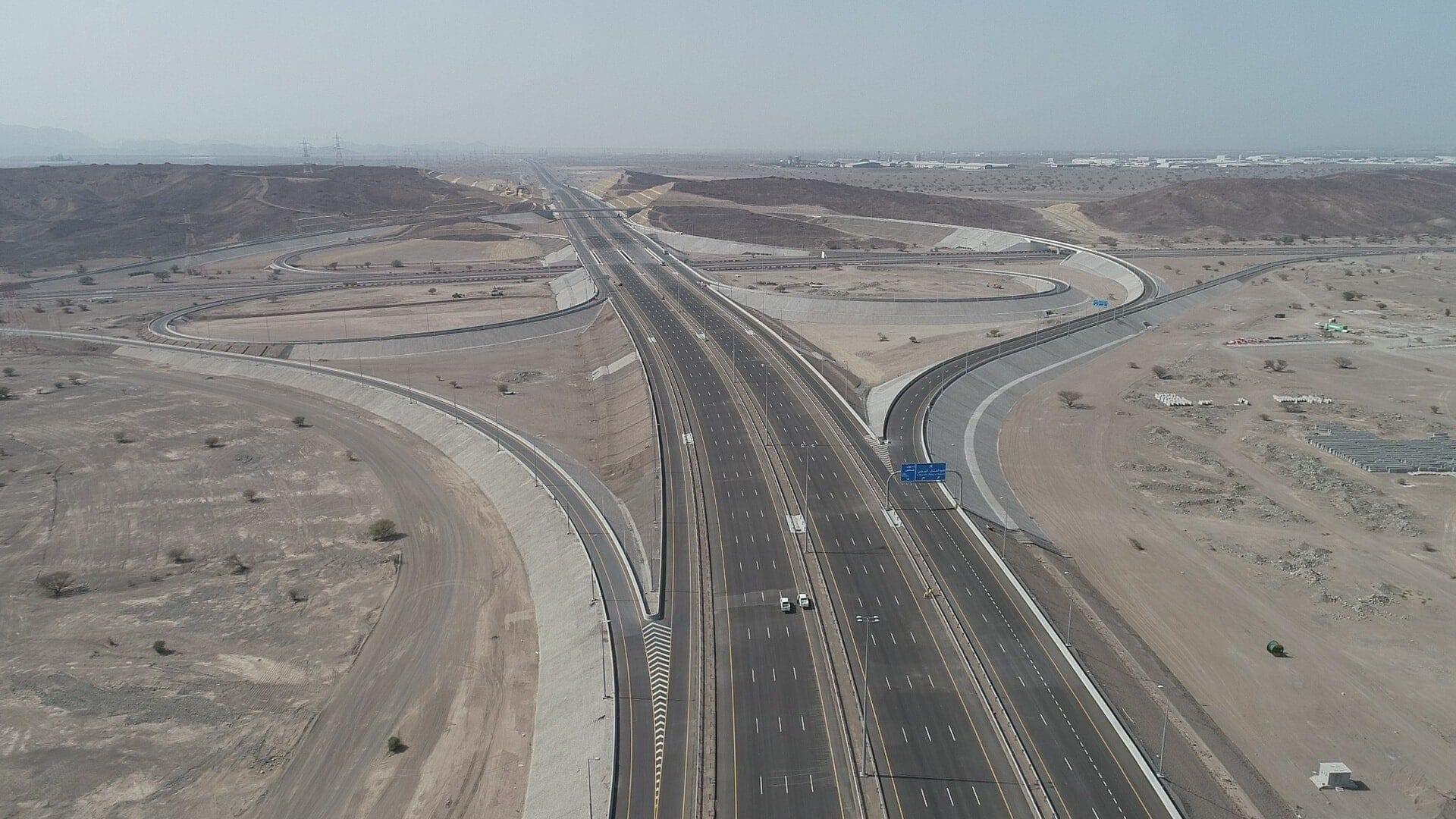 Section of Batinah Expressway