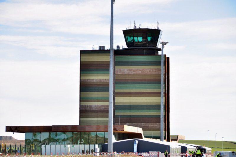 La Torre de Control Aeropuerto de Lleida