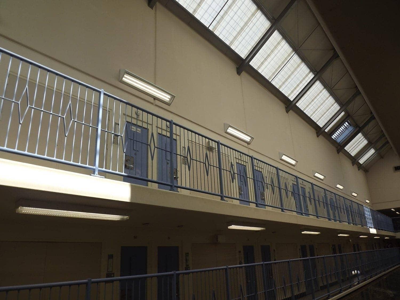 LED lighting in HM Prison Risley