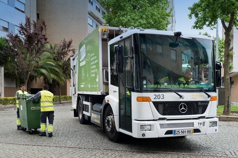 recogida de residuos urbanos portugal