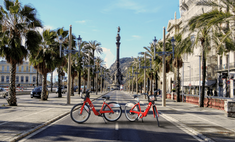 Ferrovial will manage the bike-sharing service for 10 years