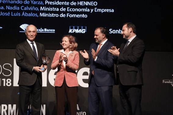 Rafael del Pino, 2018 Business Leader in Information Award
