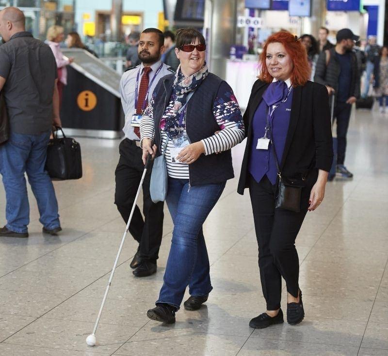 Atención a personas con necesidades especiales en aeropuertos