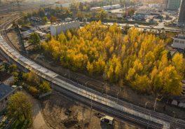descubrimientos renovación línea norte de tren Polonia