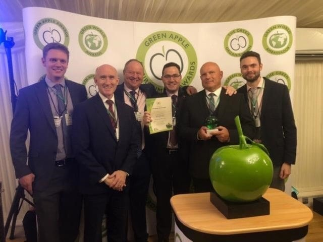 Ferrovial agroman award green apple
