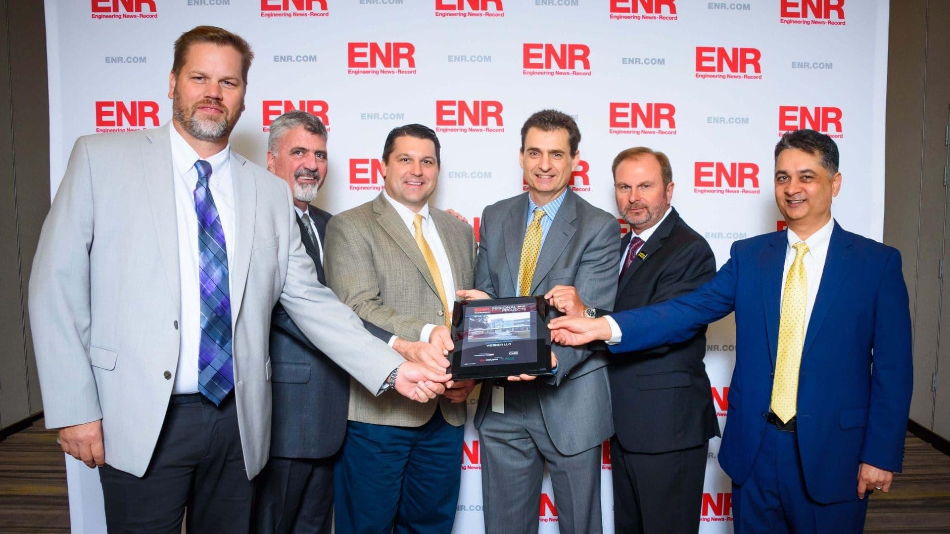 Entrega de premios ENR a Webber