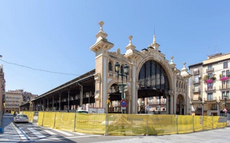 Ferrovial Agroman restores Zaragoza's Central Market