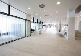Agroman concluye reforma Hospital de Jove-entrada