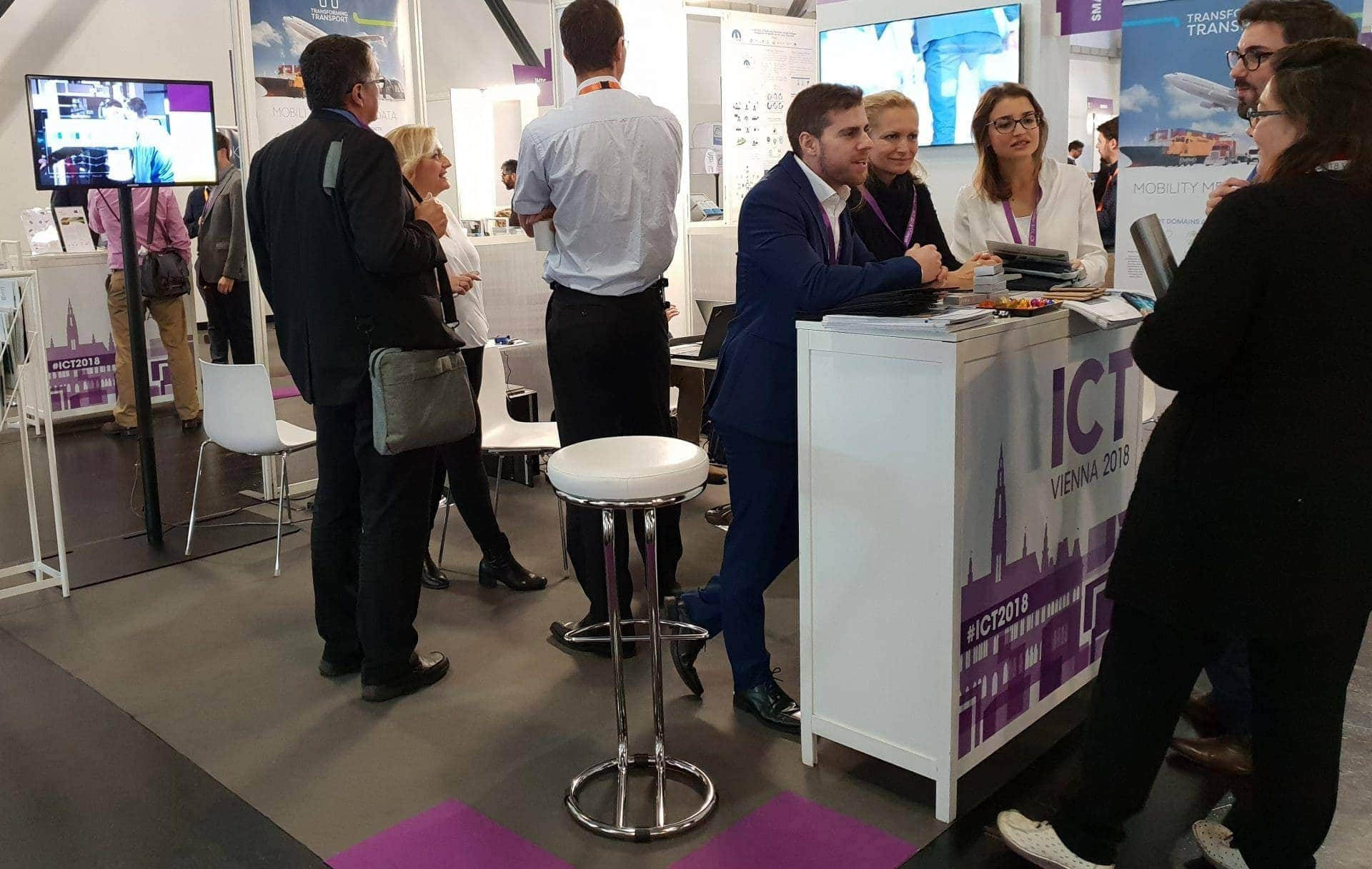 ICT 2018 Stand
