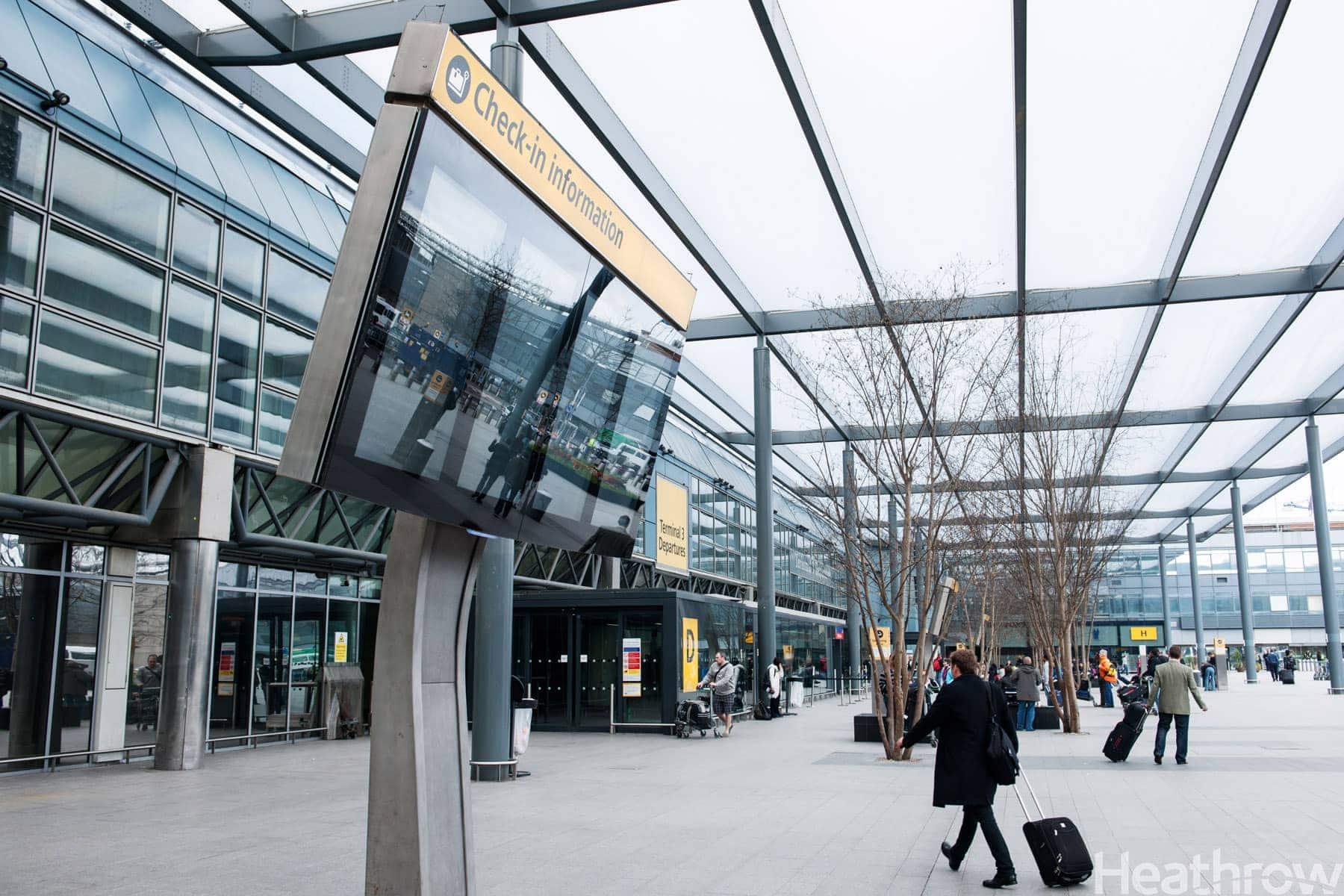 Termina 3 del Aeropuerto de Heathrow