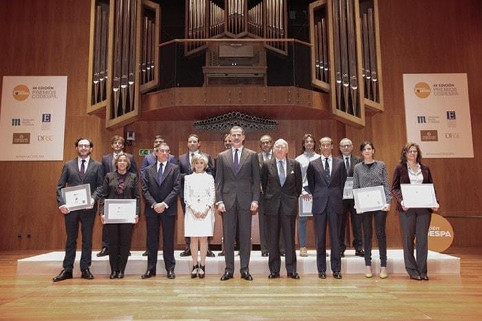Foto de los finalistas Premios Codespa 2019