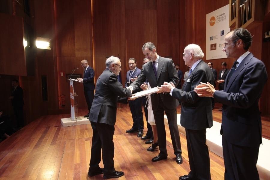 Francisco Polo recoge el premio Codespa