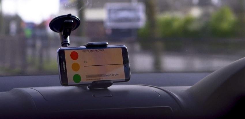 App móvil de Amey para evitar la congestión de tráfico