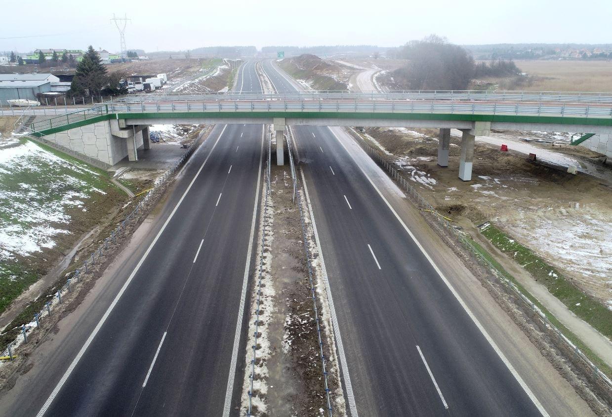 Expressway S51 from Jaroty interchange to Olsztyn Wschód