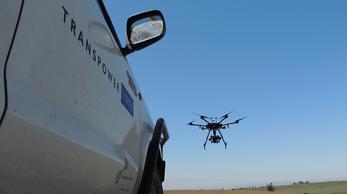 Transpower and Broadspectrum drone testing set to improve safety and detect faults