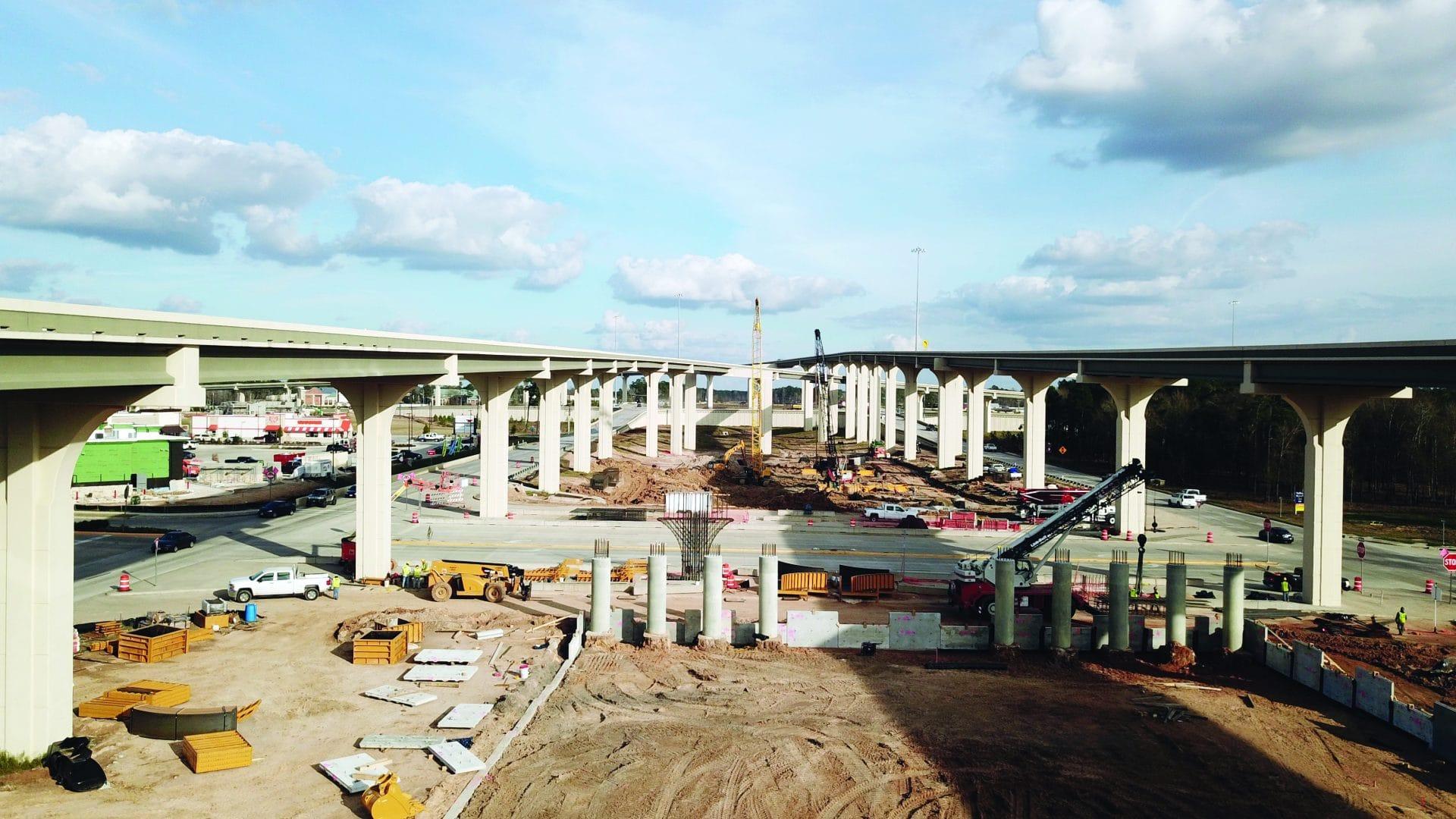 Un consorcio formado por Ferrovial Agroman US, Webber y Granite Construction, construye la autopista SH 99 Grand Parkway