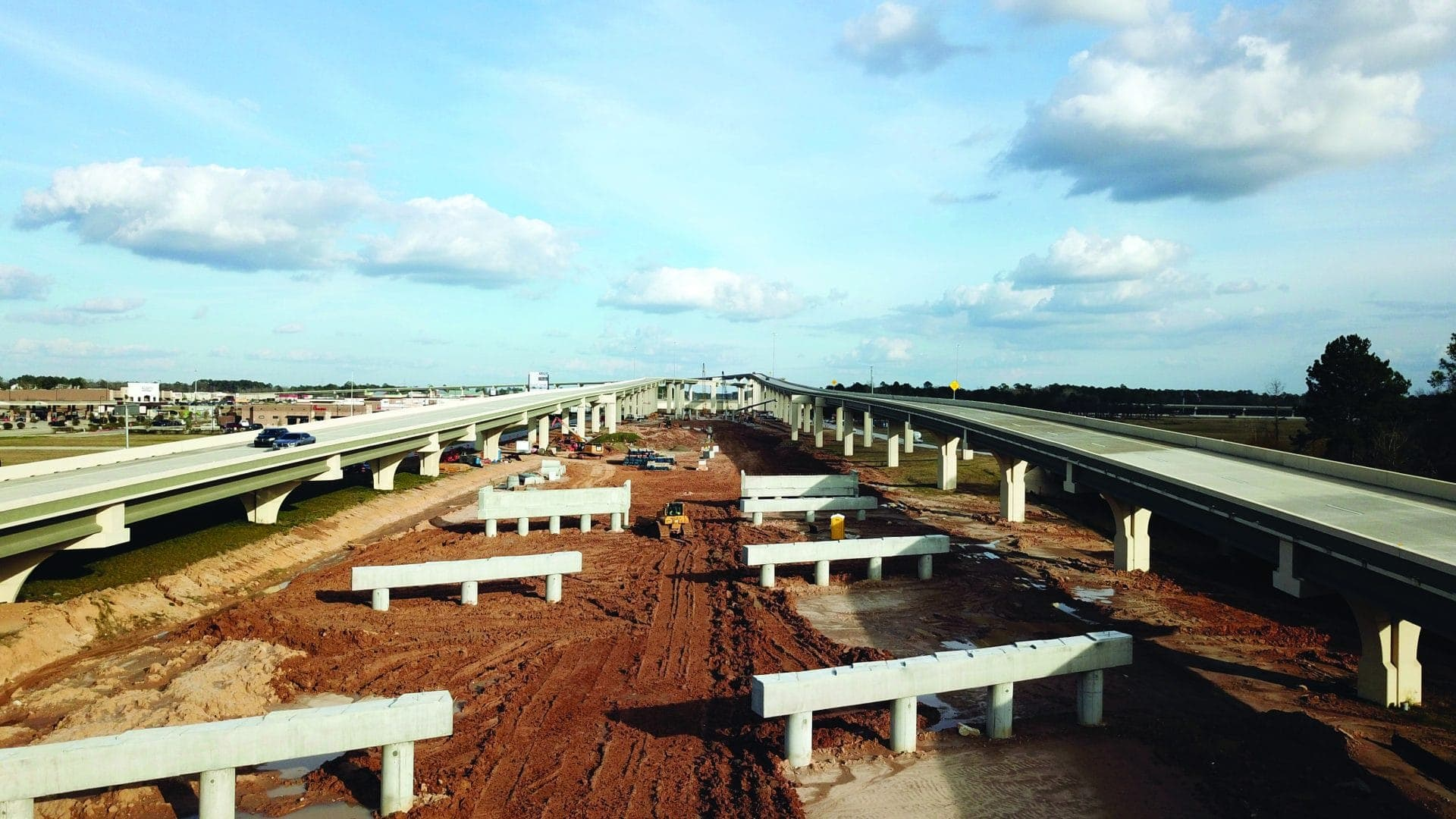 GPI, a joint venture composed of Ferrovial Agroman US, Webber and Granite Constructions on the SH 99 Grand Parkway Project