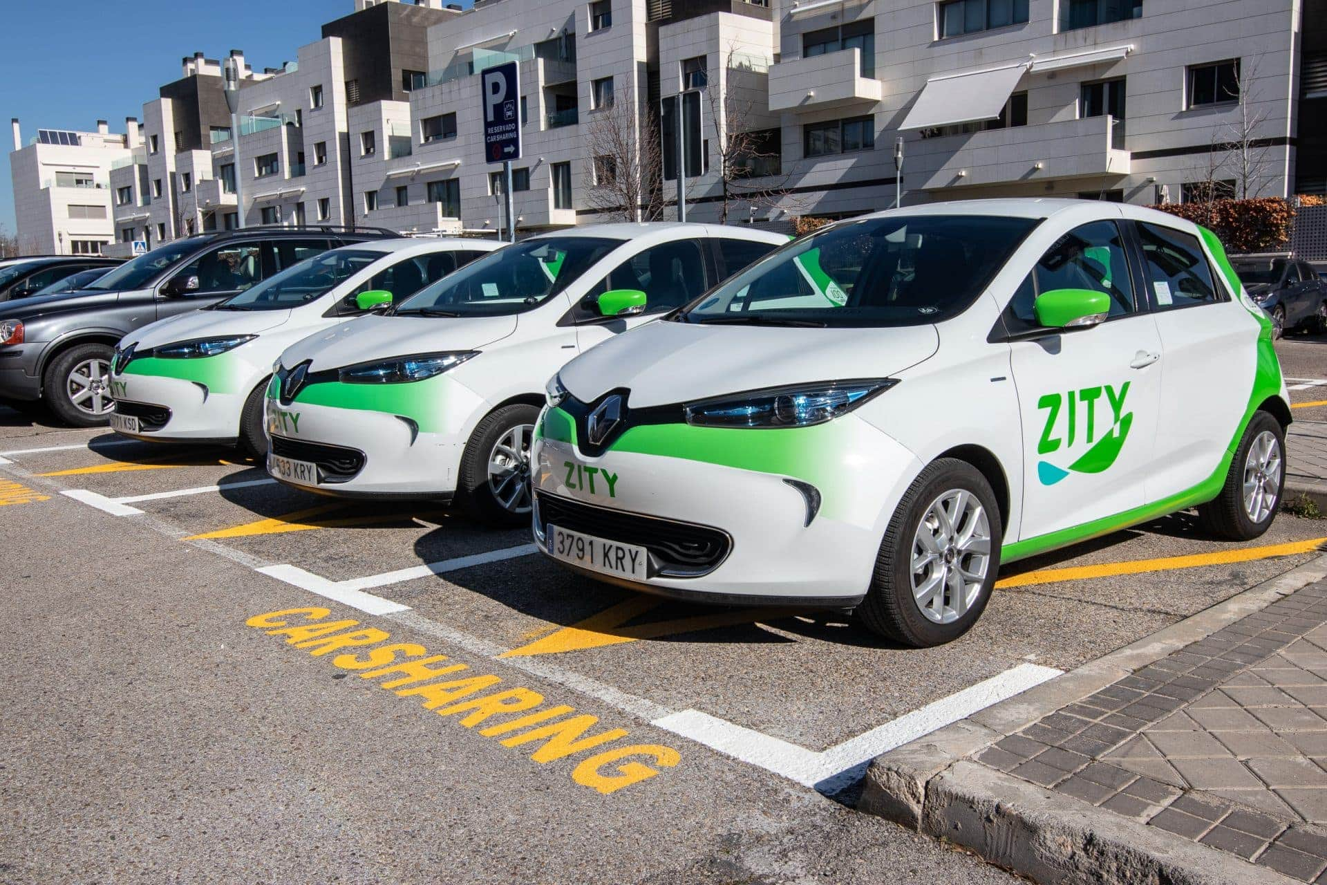 ZITY, carsharing en Madrid